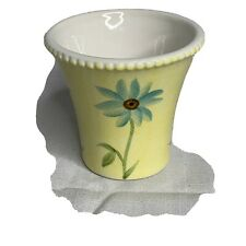 Yankee Candle Yellow Floral Votive Candle Holder - Spring
