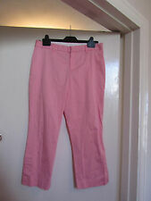 Pink Low Rise Gap Cropped Trousers in Size 8 - L23