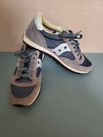 Women's Saucony Jazz Low Pro Running Casual Shoes Gray Teal Mint size 7M