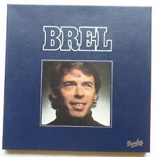 Coffret JACQUES BREL Barclay N°1   4XLP 200380