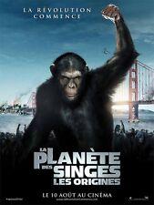 Affiche 120x160cm La Planète Des Singes : Les Origines (2011) James Franco NEUVE