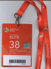 Orig.VIP Ticket   World Cup Germany 2006  COTE D`I. - SERBIA/MONTENEGRO  / ELITE
