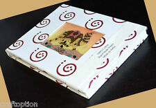 HANDMADE RECYCLED PAPER GEMSTONE JOURNAL/DIARY WITH GEMSTONE PAINTING INDIA!!