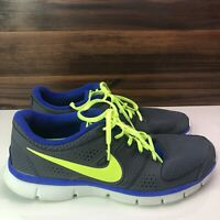 Nike Flex Experience RN Athletic Shoes - Men's Size 12 Grey/Green/Blue