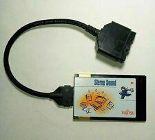 Rare Vintage Fujitsu Stereo Sound Card & Interface Cable