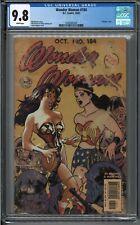 Wonder Woman 184 CGC 9.8 Adam Hughes 2002 DC Comics