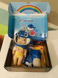 Pinkfong Baby Shark Baby Alive Doll Daddy Shark Blue Shark Outfit