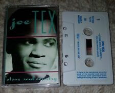Joe Tex - Stone Soul Country - UK Cassette