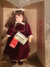 """Lenci Doll """"Gilda� 16""""- Hand Painted from Italy - Mint in box with paperwork"""