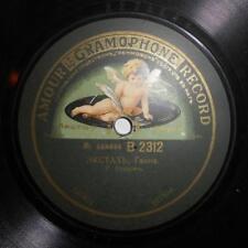 RARE AMOUR GRAMOPHONE RECORD, GANNE - TOSTI, CELLO - R. BOURDON AND NEAPOL. TRIO