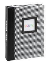 Elements álbum de fotografías en negro para 200 fotos en 13x18 cm embutir álbum de fotografías
