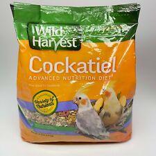 New listing Wild Harvest Cockatiel Parrot Bird Food Advanced Nutrition Diet, 4lb