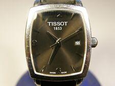 TISSOT WOMEN'S STAINLESS STEEL QUARTZ WRIST WATCH WITH DATE - MODEL: T057910A