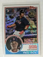 RAFAEL DEVERS 2018 Topps 35th Anniversary Silver Pack Refractor Rookie #20 RC