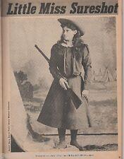 Annie Oakley Sure Shot and Buffalo Bill+London,Moses,Burke,Sells,Butler,Cody