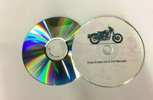 Royal Enfield Bullet 350 500 Carb & Efi Model Service Repair Workshop Manuals CD