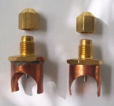 "CPS Line Piercing Saddle Tap Valve Copper 3/4"" (2-pack) Braze on Service Valve"