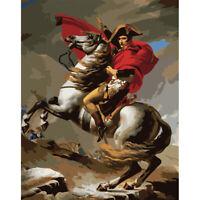Malerei Von Zahlen Set DIY Napoleon Digital Leinen Kunst Bild Heim Dekor #R