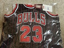 f628f77436d Michael Jordan Black Alternate Authentic Jersey 1997-98 BULLS Size M