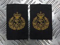 Genuine British Royal Navy RN Chief Petty Officer Rank Slides Epaulettes EPB43