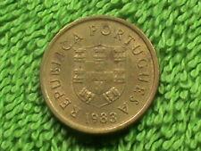 Portugal 1 Escudo 1983 Presque UNC `