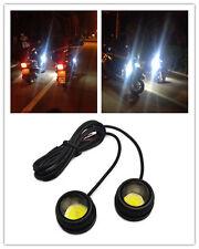 2PCS High Power LED Eagle Eye Under body Lamp DRL Fog Light For Harley-Davidson