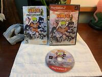 Naruto Ultimate Ninja Shonen Jump PS2 Sony Playstation 2 Complete Pristine Shape