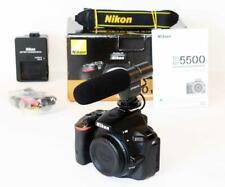 Nikon D5500 24.1MP DSLR BODY BOXED - LOW actuations