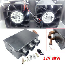 12V DC Portable Car Heating Cooling Compact Heater 3 Hole 80W Defroster Demister