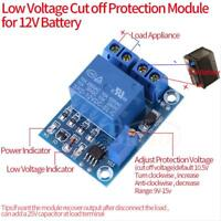 DC 12V 10A Battery Low Voltage Auto Cut off Switch Controller Protection Board