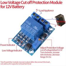 12V Battery Low Voltage Cut off Switch Controler Excessive Protection Module ams