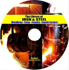 Metal Work Forge Foundry Metallurgy Cupola Furnace Alloys Iron Tempering CD DVD