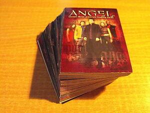 ANGEL SEASON THREE COMPLETE BASIC SET OF CARDS