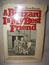 A Buzzard Is My Best Friend Margaret Anne Barnes Autographed Hard Cover Book