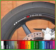 Z1000 Wheel Rim Decals Stickers - Many Colours - z 1000