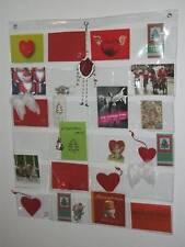 Fotovorhang 24 Fächer Taschen Foto Bilder Postkarten Vorhang Galerie Album 72x78