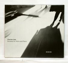 SCHNEEBERGER, CHOLETTE - IVES violin & piano sonatas ECM CD NM
