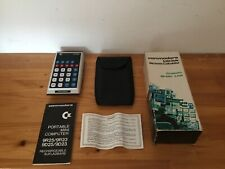 Commodore GL 9R25 Rechargeable Calculator  - Amazing Condition BOXED