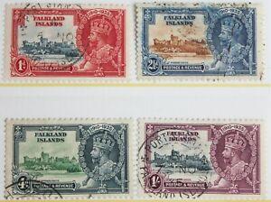 Falkland Islands - 1935 Silver Jubilee Set – Superb Used – Super Lot  (R2-E)