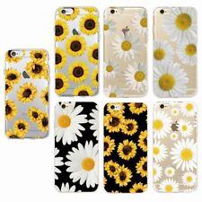 Daisy Girasol Flor Funda cubierta suave para iPhone 7 7+ 6 6S 8 8+ X XS Samsung