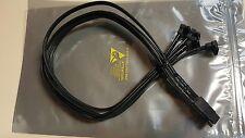 HP 21 Inch Mini SAS to 4x SATA Cable New 433775-005 Foxconn H 14 18 1418