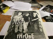 Throne Promotion Photo Vintage 90'S Promo Shot 8 X 10 Collectable