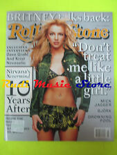 ROLLING STONE USA MAGAZINE 877/2001 Britney Spears Kurt Cobain Sonny Barger Nocd
