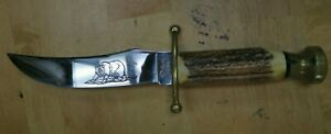 Case XX USA Kodiak Fixed Blade Knife NO Sheath
