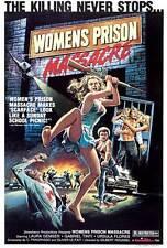 WOMEN'S PRISON MASSACRE Movie POSTER 27x40 Laura Gemser Gabriele Tinti Ursula