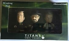 Breaking Bad TITANS 3'' Three Pack Walter, Jesse & Saul Vinyl Figures Exclusive