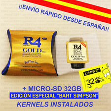 Tarjeta R4 Gold Pro SDHC 2020 para Nintendo DS/3DS/2DS +Lector/grabador +MSD32Gb