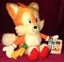 TAILS FOX SPORTS BADMINTON JAPAN EXCLUSIVE LIMITED PLUSH TOY SEGA SONIC PRIZE