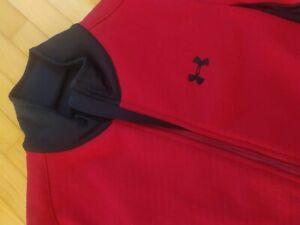 Under Armour Damen Trainingsjacke rot - Stylische Sportjacke inkl. Socken