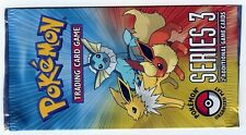 1 BOOSTER POKEMON PROMO POP SERIES 3 NEUFS En Anglais (Collector)